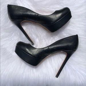 Gianni Bini black leather shoes sz 10